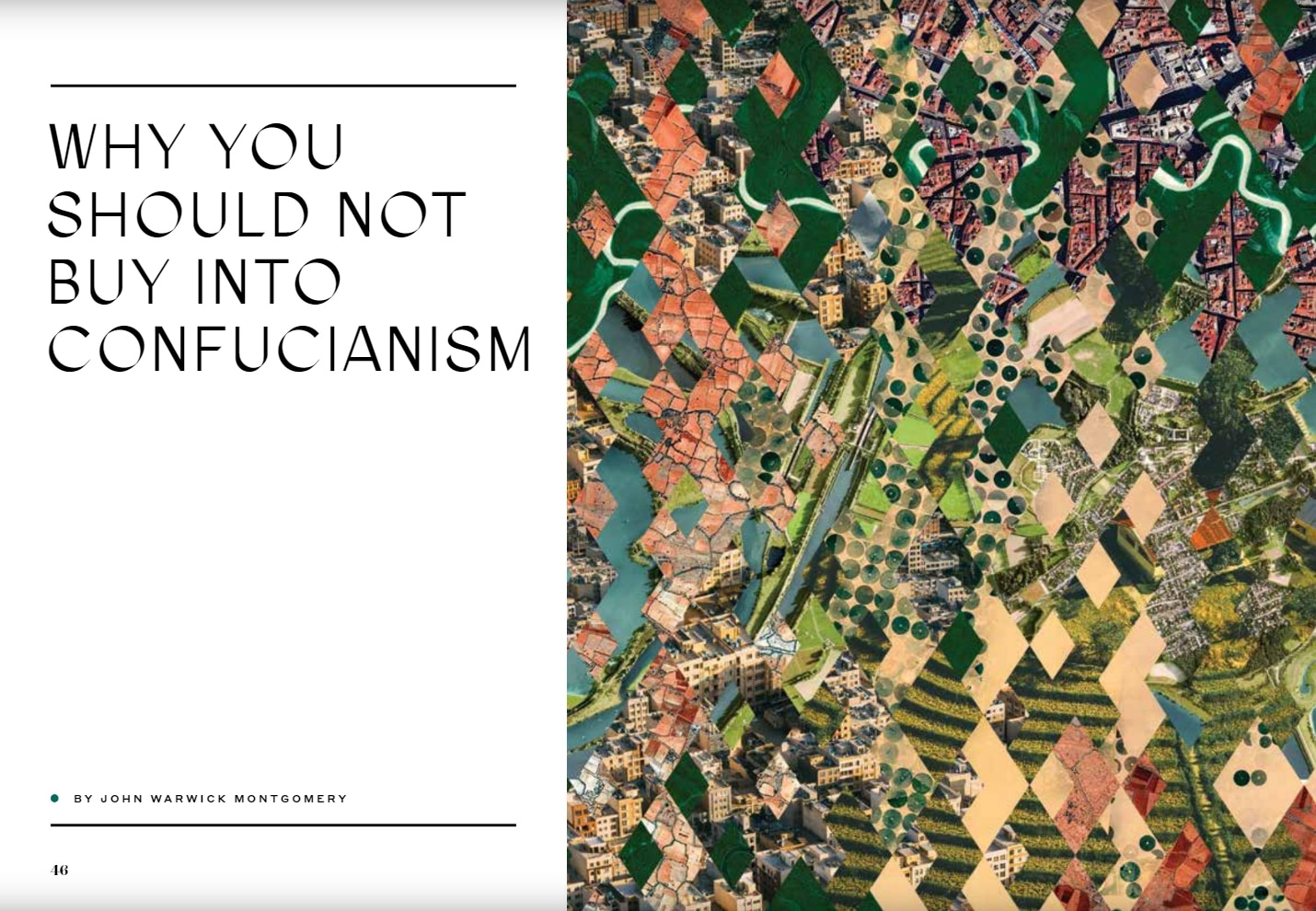 Why You Should Not Buy into Confucianism
